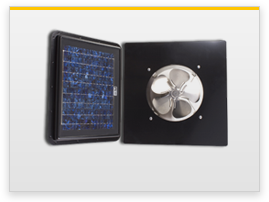 gable solar attic fan