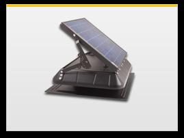 tilt panel solar attic fan