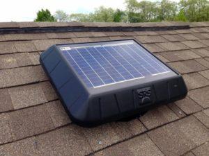 solar panel attic fans