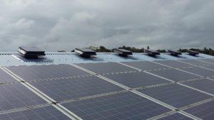 solar power roof fans