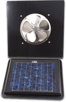 solar power gable unit fan