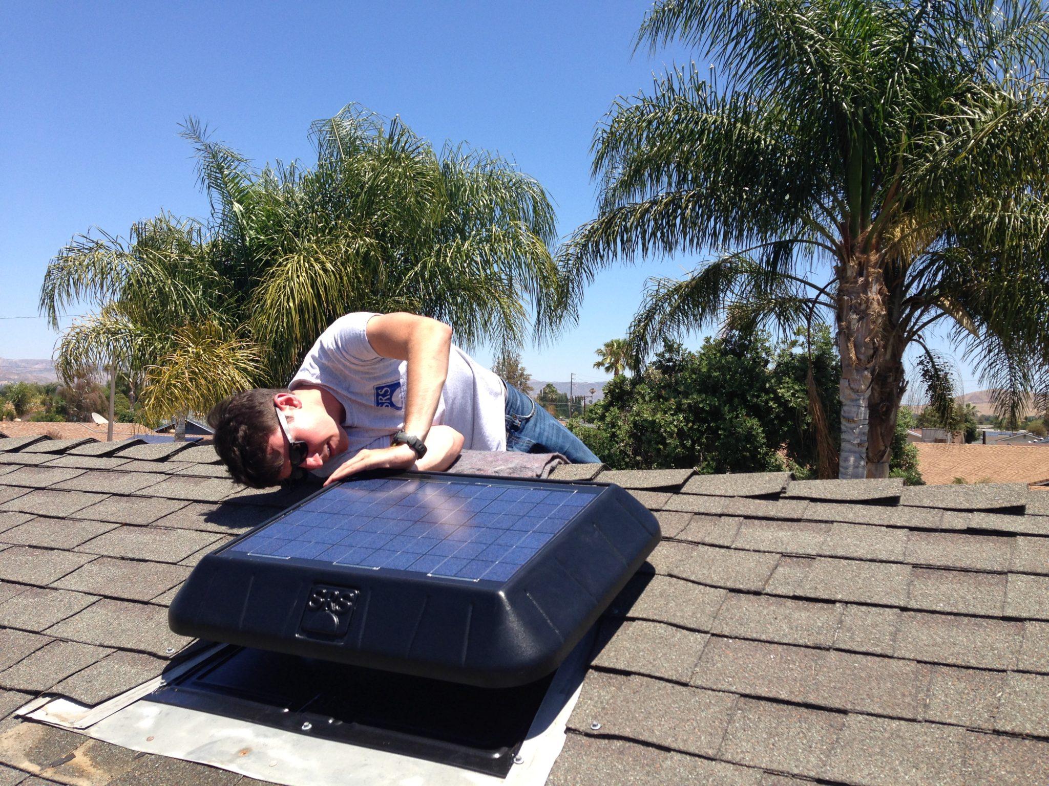 Solar star attic fan complaints - Installing A Solar Attic Fan