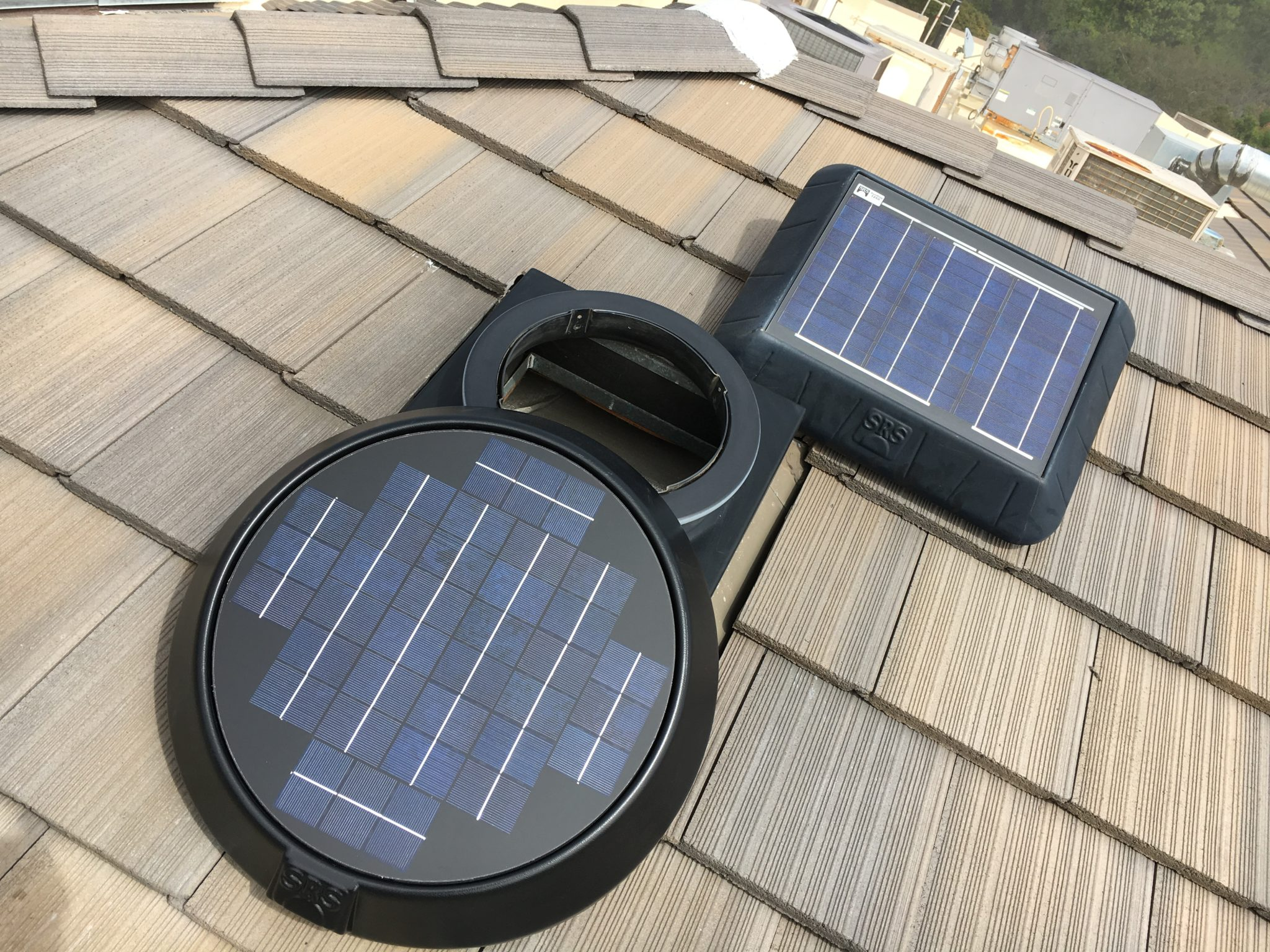 Solar Attic Fans The Original Solar Attic Fan By Sunrise